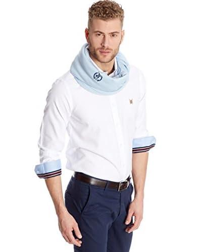 Polo Club Camisa Hombre Oxford Blanco