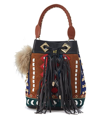 SECCHIELLO GRANDE LA CARRIE BAG 162-E-410 INDIAN