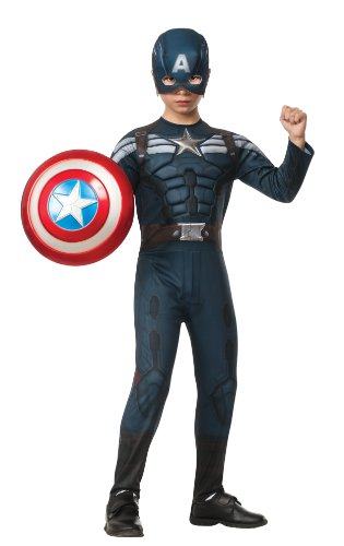 Rubies Captain America: The Winter Soldier Deluxe Stealth Suit Costume, Child Small