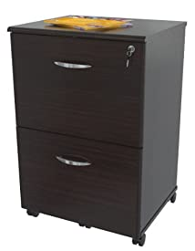Inval America AR-2X2S Mobile File with 2 Drawers