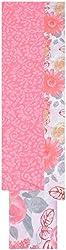 Princess Women's Cotton Unstitched Dress Material (Pink)