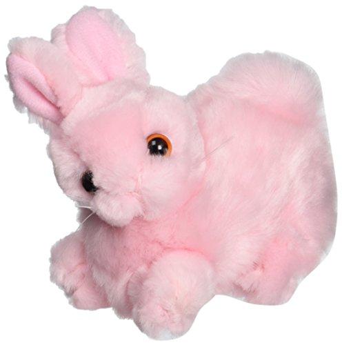 """Purr-Fection Estelle Junior Pink Bunny 4"""" Plush"""