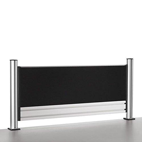Novus escritorio separador Slatwall Wall Visio 100de antracita