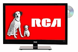 RCA LED24C45RQD 24-Inch 60Hz 1080p HD LED TV with Built-In DVD Player (Black)