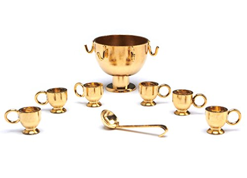 Royal Palace Miniature Punch Bowl with 6 Cups and Ladle (Miniature Punch Bowl compare prices)