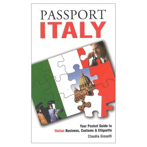 business culture italy Get this from a library business italy : a practical guide to understanding italian business culture [peggy kenna sondra lacy.