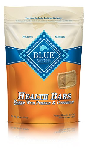 Blue Buffalo Health Bars for Dogs, Pumpkin and Cinnamon, 16-Ounce Bag