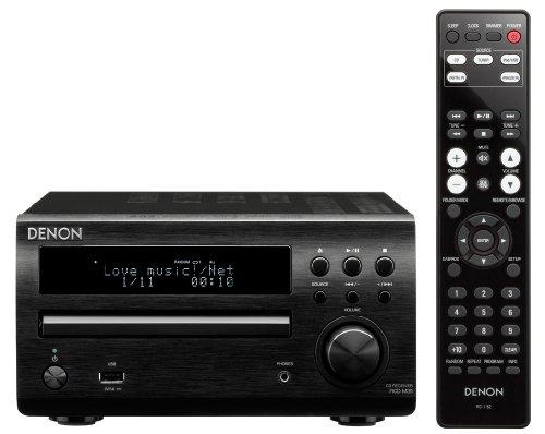Denon RCD-M39 Sintoamplificatore e Lettore CD, Nero