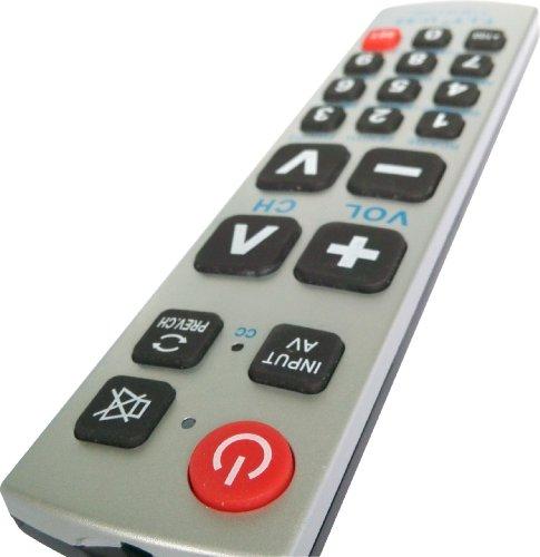 Gmatrix u43 Big Button Universal Remote Control - Retail Packaging (Vision Remote Control compare prices)