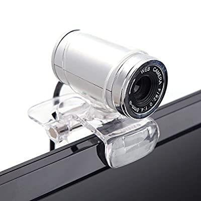 Docooler USB 2.0 12 Megapixel HD Camera Web Cam with MIC Clip-on 360 Degree for Desktop Skype Computer PC Laptop...