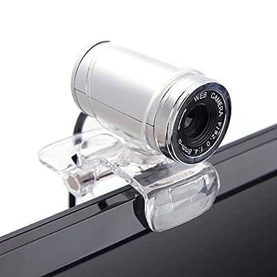 Docooler USB 2.0 12 Megapixel HD Camera Web Cam with MIC Clip-on 360 Degree for Desktop Skype Computer PC Laptop...