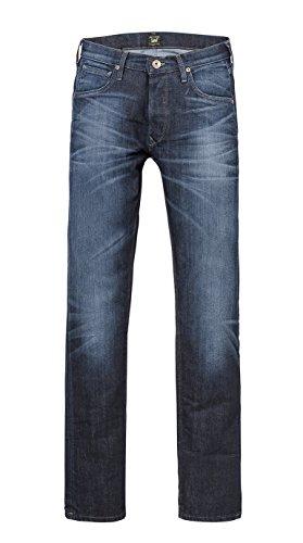 Lee - Pantaloni, Uomo, Blu (Bleu (Bleu Aadb)), 46 IT (32W/32L)