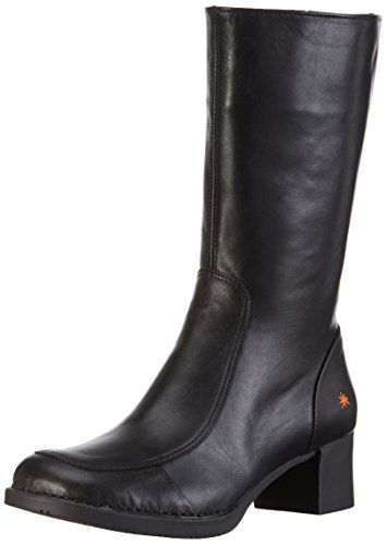 artBRISTOL - Stivali a metà polpaccio con imbottitura leggera Donna, Nero, 39