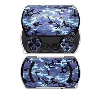 Sky Camo Design Decal Skin Sticker for the Sony PSP Go