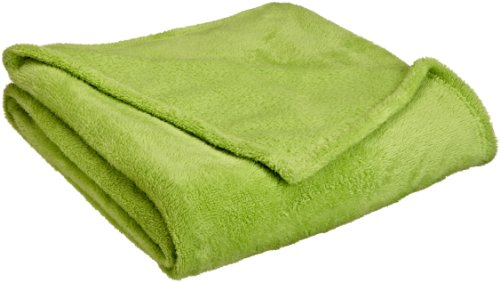 northpoint faux fur throw blanket lime green. Black Bedroom Furniture Sets. Home Design Ideas