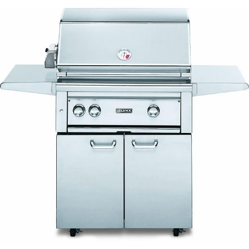 "30"" Professional Freestanding Grill with ProSear Burner and Rotisserie Fuel Type: Liquid Propane"