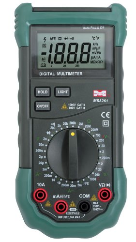 how to set up a multimeter