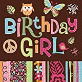 Hippie Chick Bday Beverage Napkins Package of 16