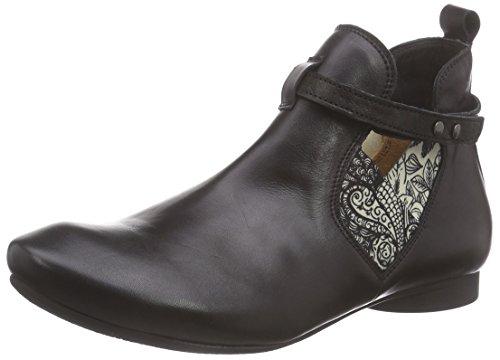 Think!Guad Ankle Boot - Stivaletti a gamba corta mod. Chelsea, imbottitura leggera Donna , Nero (Nero (SZ/KOMBI 09)), 39