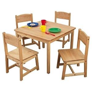 KidKraft KidKraft Farmhouse Table and 4 Chair Set by KidKraft