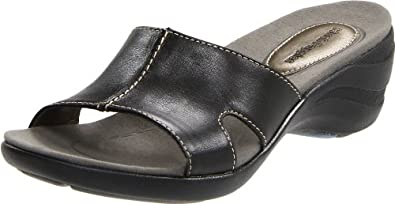 Amazon.com: Hush Puppies Women's Vesper Slide Sandal,Black