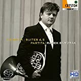 バッハ:組曲第4&5番 パルティータ<無伴奏チェロ組曲&無伴奏フルート・ソナタ ホルン版>