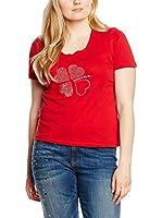 Fiorella Rubino Camiseta Manga Corta (Rojo)