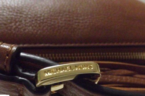 MICHAEL Michael KorsMichael Kors Weston Luggage Brown Pebbled Leather Messenger Bag