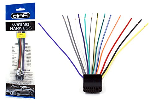 DNF Pioneer Wiring Harness DEH-P4800MP DEH-P4900IB DEH-P5000UB - 100% Copper Wires! (Deh 2700 compare prices)