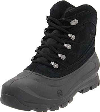 Sorel Men's Cold Mountain Snow Boot,Black,10 M US