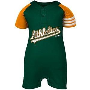 Adidas Oakland Athletics Infant Romper - 0 3 Mos by adidas