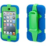 Griffin Blue/Green Survivor Case + Belt Clip for iPod touch (5th/ 6th gen.)