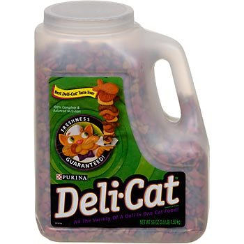Detail image Deli Cat Dry Cat Food - 3.5 lb