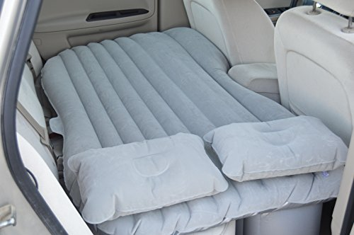 Sleepy Camper Inflatable Portable Air Mattress with 2 Pillows, Gray (Rv Air Bed compare prices)