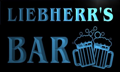 w090096-b-liebherr-name-home-bar-pub-beer-mugs-cheers-neon-light-sign