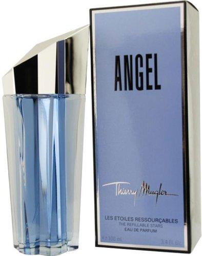 Angel By Thierry Mugler For Women. Eau De Parfum Spray Refillable 3.4 oz