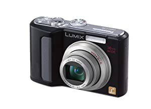 Panasonic Lumix DMC-LZ8K 8MP Digital Camera with 5x Wide Angle MEGA Optical Image Stabilized Zoom (Black)