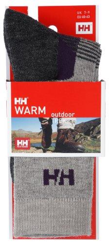 Helly Hansen - Calzini da trekking, Grigio (grigio), Size 10-12
