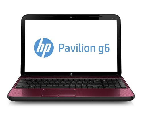 Hp pavillion g6 2213sa red laptop