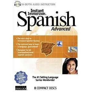 Amazon.com: Instant Immersion Spanish Adva: Software