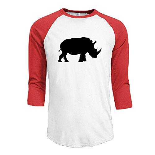 jun-mens-3-4-sleeve-cute-rhino-climb-short-t-shirt-red-l