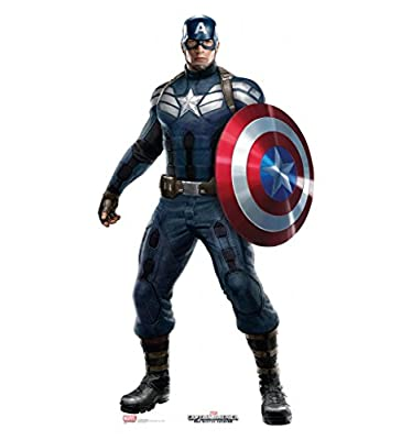 Captain America: The Winter Soldier - Advanced Graphics Life Size Cardboard Standup
