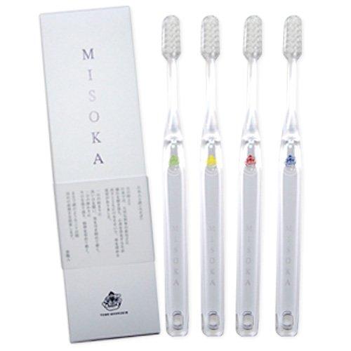 MISOKAーS 歯ブラシ ミソカ 4色12本セット