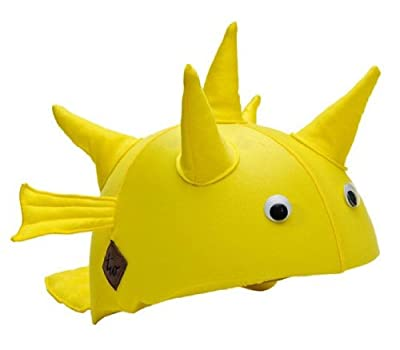 Tail Wags Equestrian Helmet Covers (Puffer Fish, One size) from Tail Wags Helmet Covers