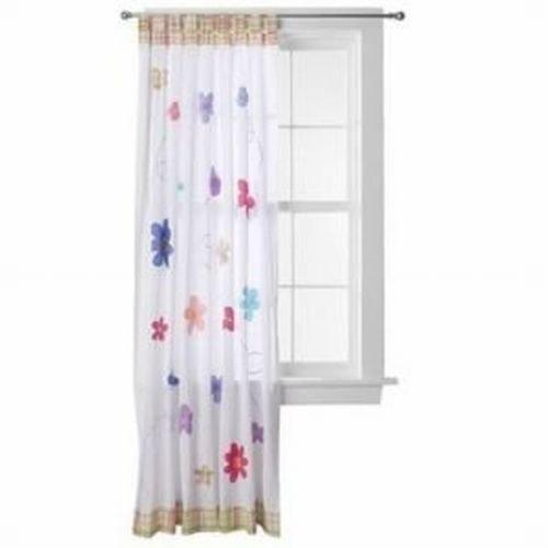 Amazon.com: Circo Happy Flower Window Panel Flowers & Butterfly ...