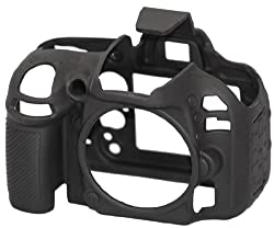 easyCover Protective Cover for Nikon D600 Black