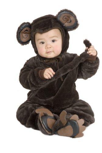 Infant 6-18 Months - Cute Plush Little Monkey Costume