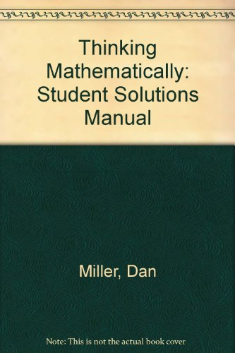 Student Solutions Manual and Study Pack for VP and TC Card