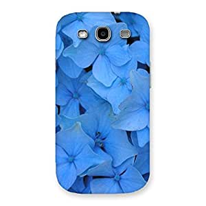 Delighted Blue Flower Bush Back Case Cover for Galaxy S3 Neo