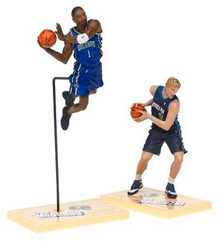 NBA  2-Pack Series 1 Figure: Nowitzki and McGrady - 1